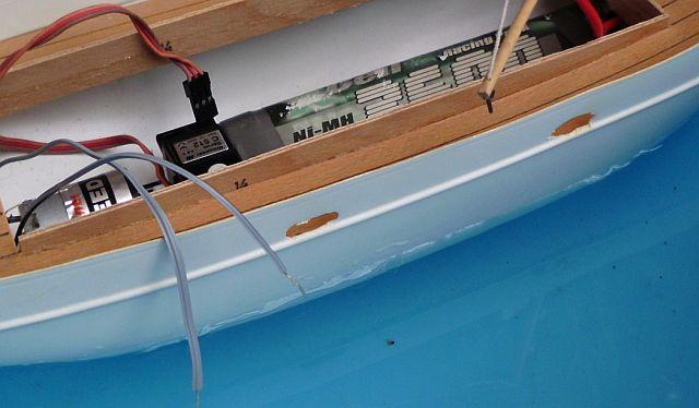 (Weiter-)Baubericht Graupner Anja SL35 1/60 560