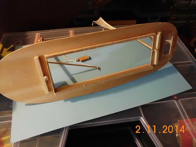 (Weiter-)Baubericht Graupner Anja SL35 1/60 561