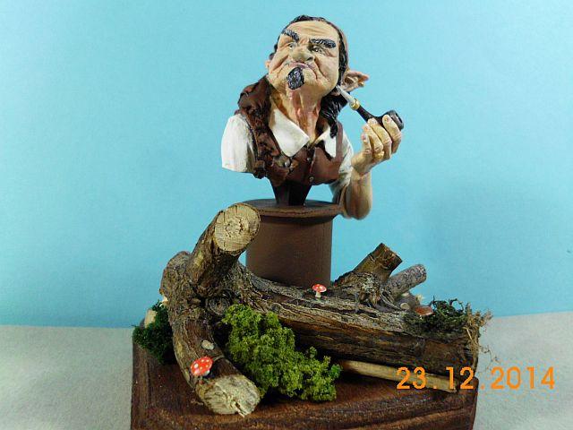 War Griffon Miniatures - Old Gnome - 50mm Büste - Galerie 5g11