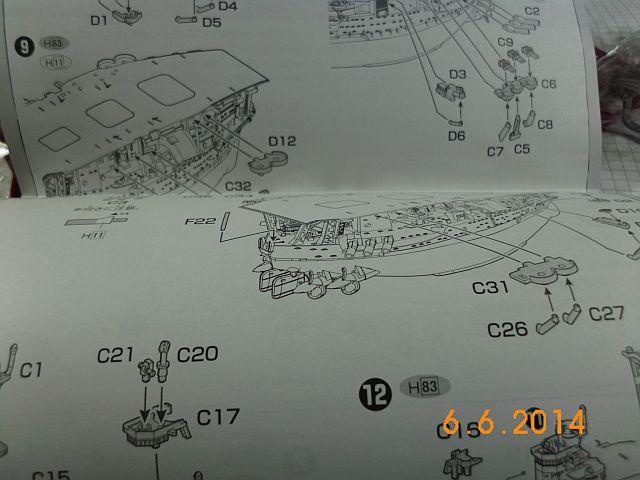 Fujimi 42168 - Egg-Ship IJN Akagi - Fertig 611