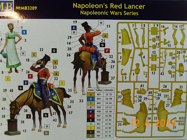 Masterbox MB3209 - Napoleons Red Lancer 1/32 - Vorstellung 615