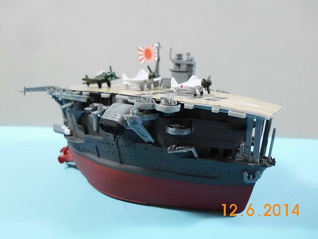 Fujimi 42168 - Egg-Ship IJN Akagi - Fertig - Seite 2 616