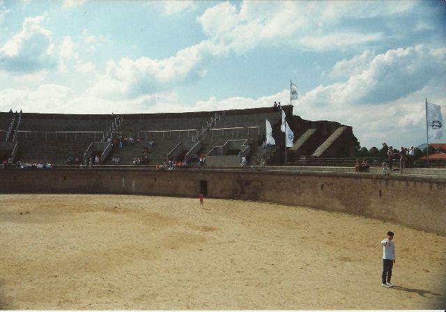 """Archäologischer Park in Xanten - ein """"römischer"""" Rundgang im Mai 1993 619"""
