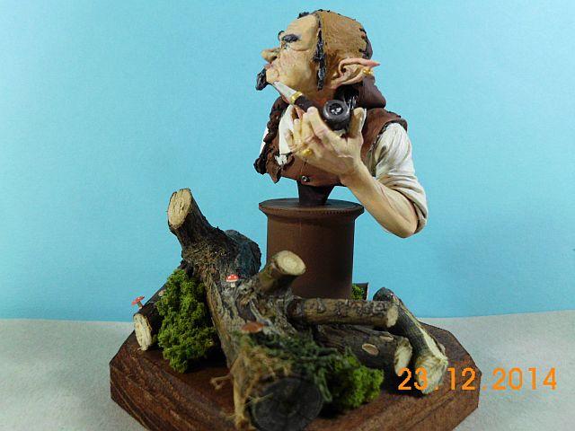 War Griffon Miniatures - Old Gnome - 50mm Büste - Galerie 650