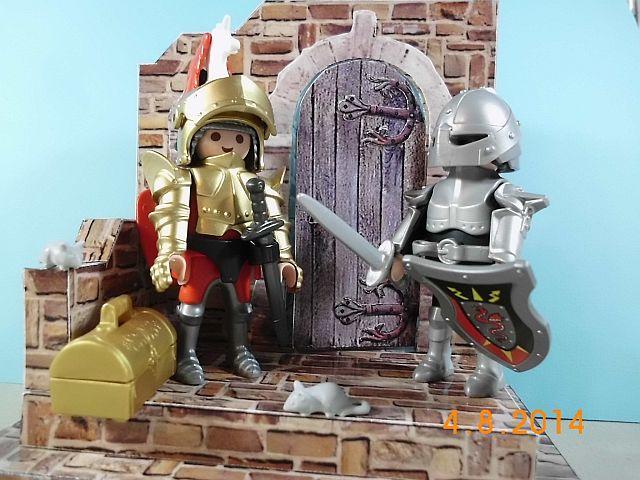 Mittelalterliches Burgtor von Papermau 1/24 - Fertig und Galerie  6f10
