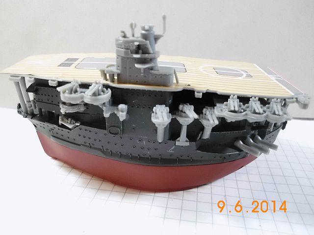 Fujimi 42168 - Egg-Ship IJN Akagi - Fertig 712