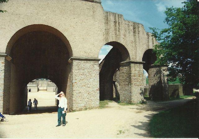 """Archäologischer Park in Xanten - ein """"römischer"""" Rundgang im Mai 1993 717"""