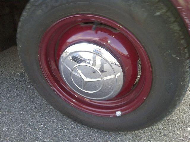 """Mercedes 170 V - auf dem Parkplatz """"schnappgeschossen""""  732"""