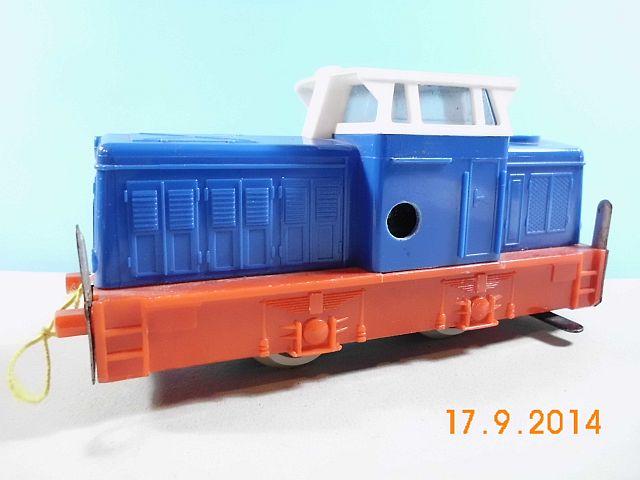 Stadtilm Diesellok Spur S mit Uhrwerk - eine Kindheitserinnerung vom Admin 733