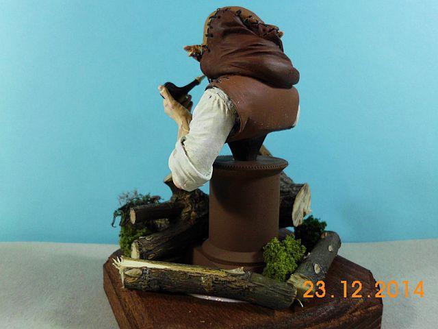War Griffon Miniatures - Old Gnome - 50mm Büste - Galerie 740