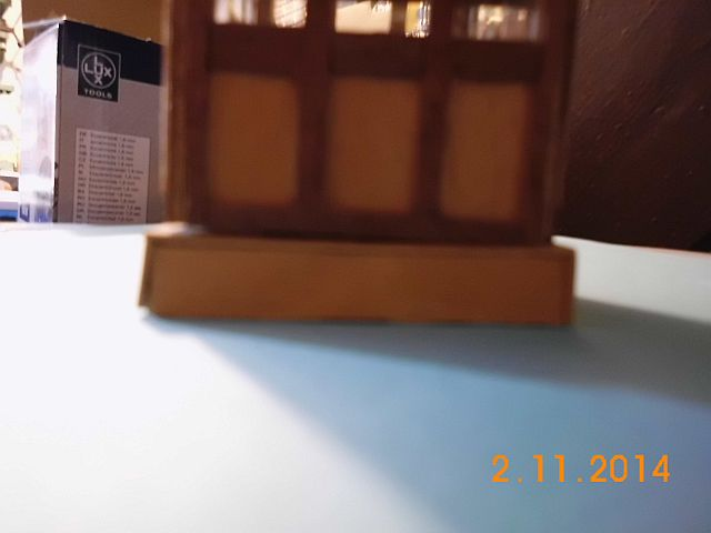 (Weiter-)Baubericht Graupner Anja SL35 1/60 7a12