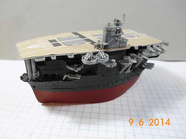 Fujimi 42168 - Egg-Ship IJN Akagi - Fertig 811