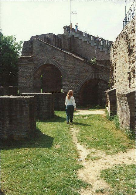"""Archäologischer Park in Xanten - ein """"römischer"""" Rundgang im Mai 1993 813"""