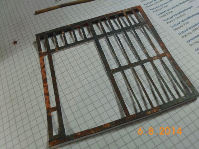 Sheriffbüro + Gefängnis von Papermau - Fertig und Galerie 8b12