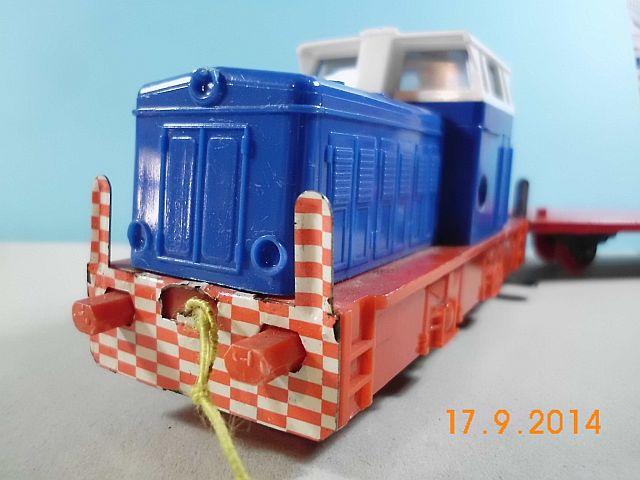 Stadtilm Diesellok Spur S mit Uhrwerk - eine Kindheitserinnerung vom Admin 919