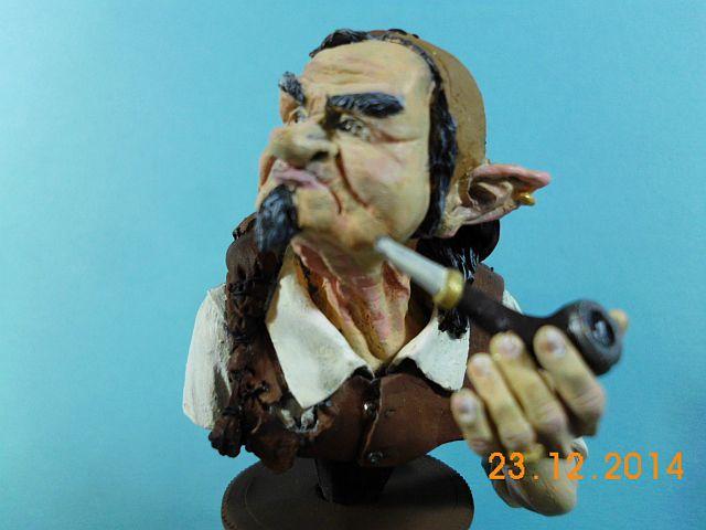 War Griffon Miniatures - Old Gnome - 50mm Büste - Galerie 926