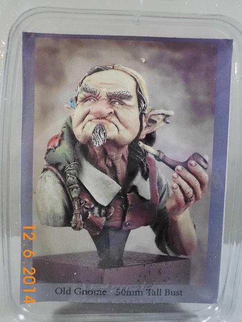 War Griffon Miniatures - Old Gnome - 50mm Büste - Vorstellung 9_gnom10