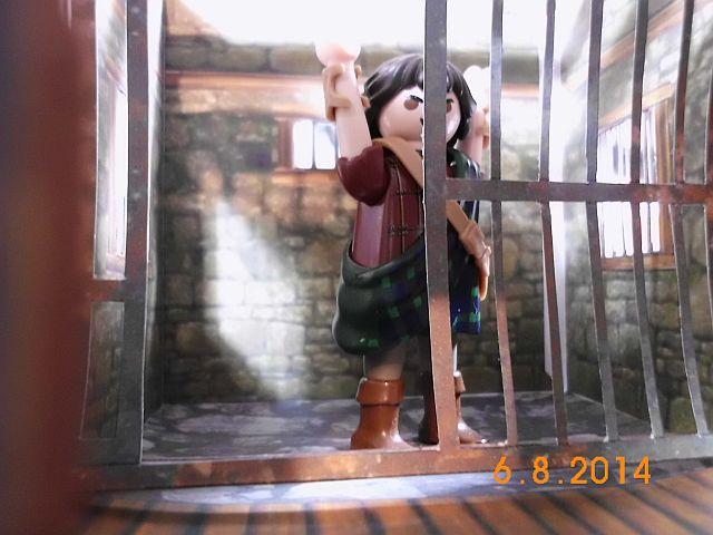 Sheriffbüro + Gefängnis von Papermau - Fertig und Galerie 9a11