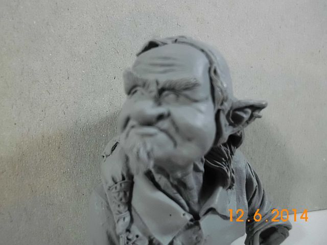 War Griffon Miniatures - Old Gnome - 50mm Büste - Vorstellung 9b10