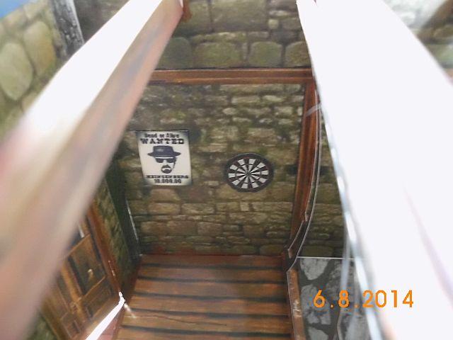 Sheriffbüro + Gefängnis von Papermau - Fertig und Galerie 9b11