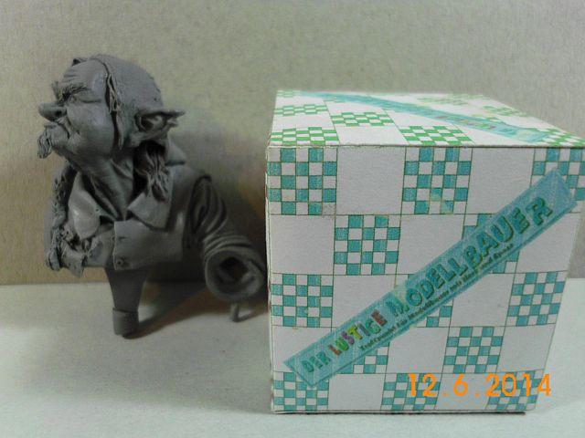 War Griffon Miniatures - Old Gnome - 50mm Büste - Vorstellung 9c10