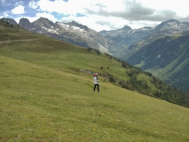 Traversée des Pyrénées en KLRs 10984-10