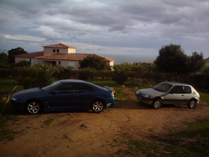 2CV6, 205 GTI et 406 coupé 1/18 et 1/1 406_co11