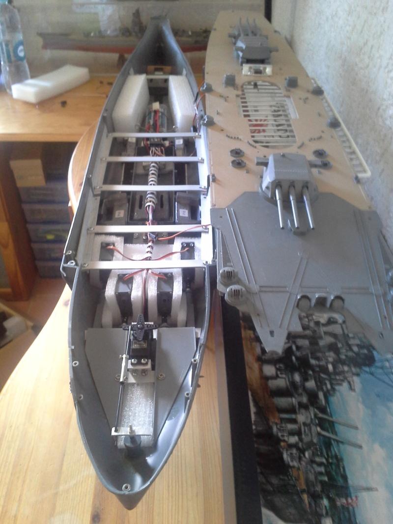 Servo comme moteur de propulsion Yamato17