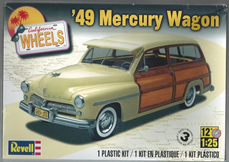 1949 Mercury Wagon von Revell in 1 zu 25 1949_m10