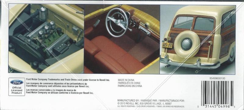1949 Mercury Wagon von Revell in 1 zu 25 1949_m11