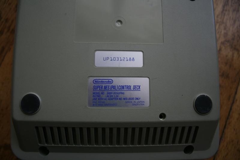 """Super Nintendo FRA """"Pal Version"""" Img_8316"""