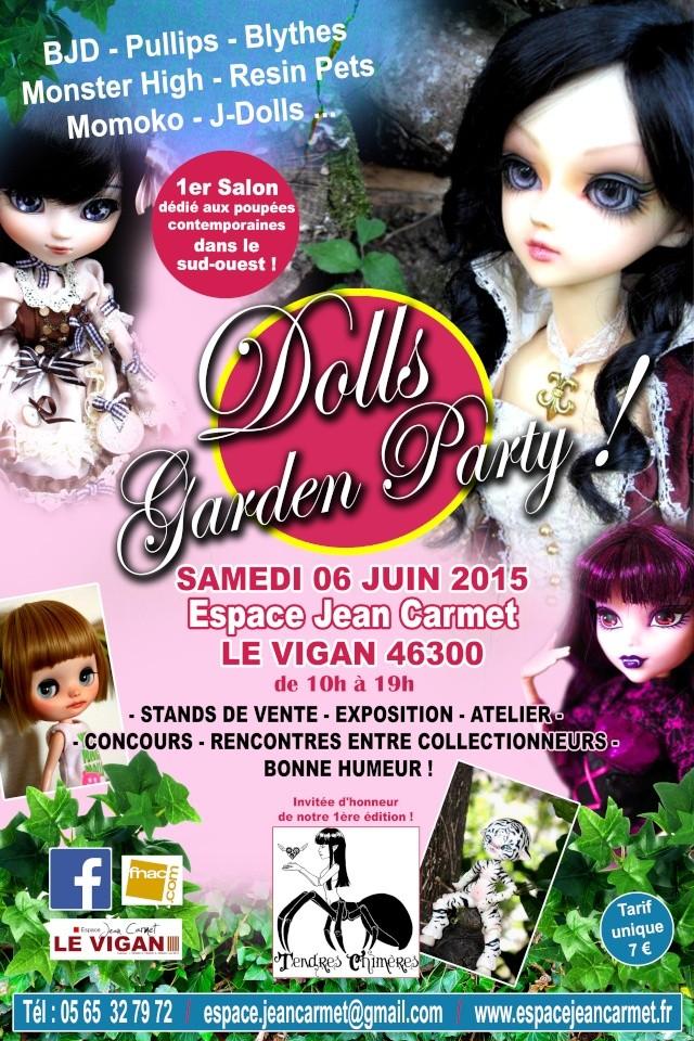 Dolls Garden Party: Liste exposants [p10] planning [p11] Affich11