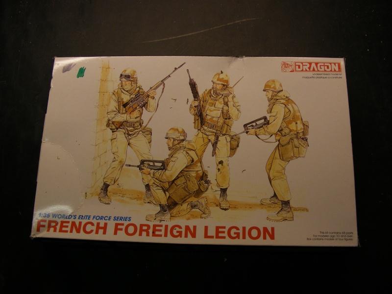"""Figurensatz """" French Foreign Legion """" von DRAGON in 1:35 ( 4 Moderne Legionäre ) Dscf1210"""
