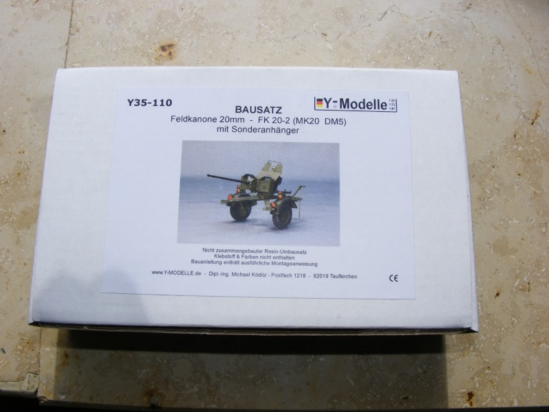 Feldkanone 20 mm FK 20 - 2  ( MK 20 DM 5 ) mit Sonderanhänger in 1:35 Dscf1219