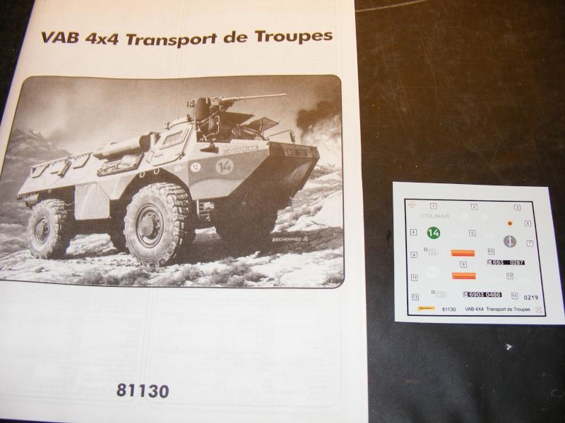 Truppentransporter VAB 4x4 in 1:35 von HELLER Dscf1311