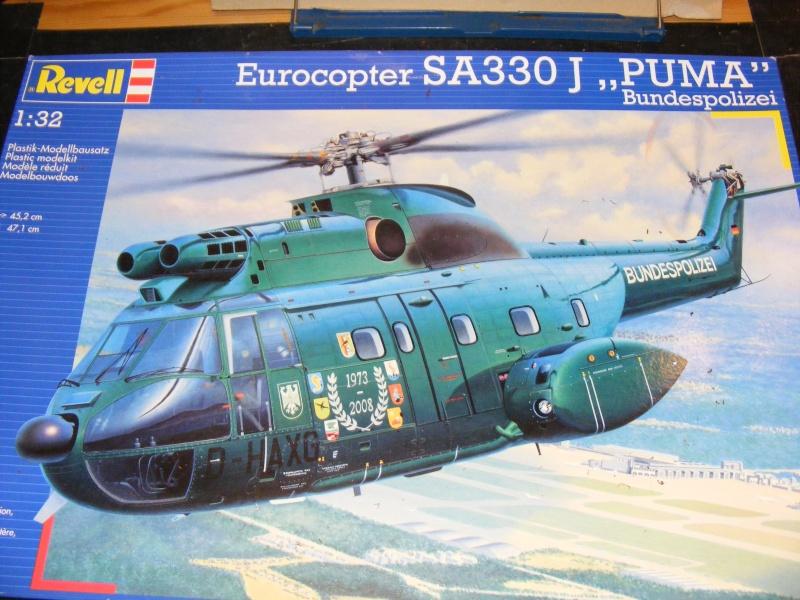 """Eurocopter SA 330 J """" Puma """" Bundespolizei von REVELL in 1:32 Dscf1312"""