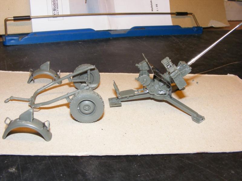 Feldkanone 20 mm FK 20 - 2  ( MK 20 DM 5 ) mit Sonderanhänger in 1:35 Dscf1423