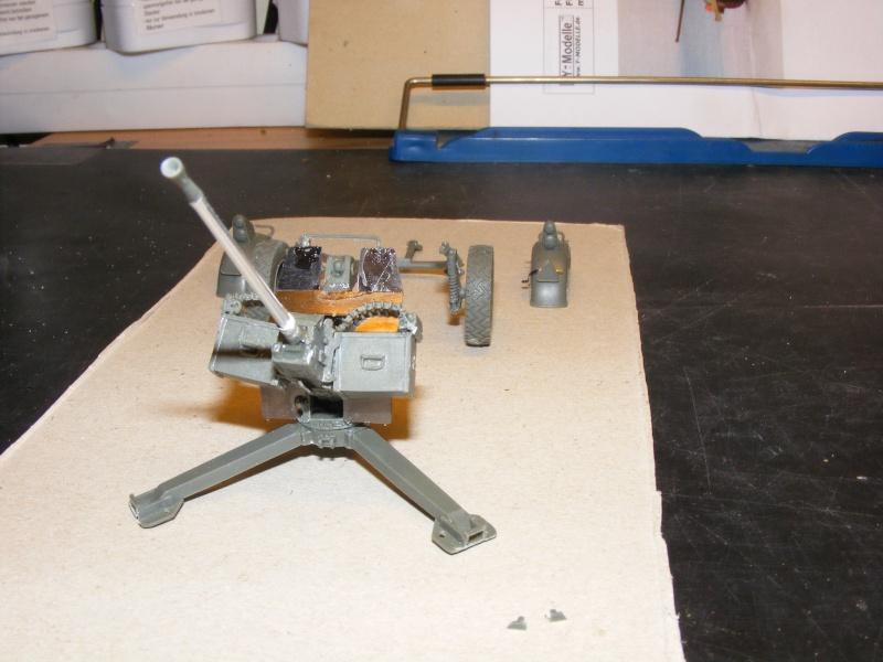 Feldkanone 20 mm FK 20 - 2  ( MK 20 DM 5 ) mit Sonderanhänger in 1:35 Dscf1424
