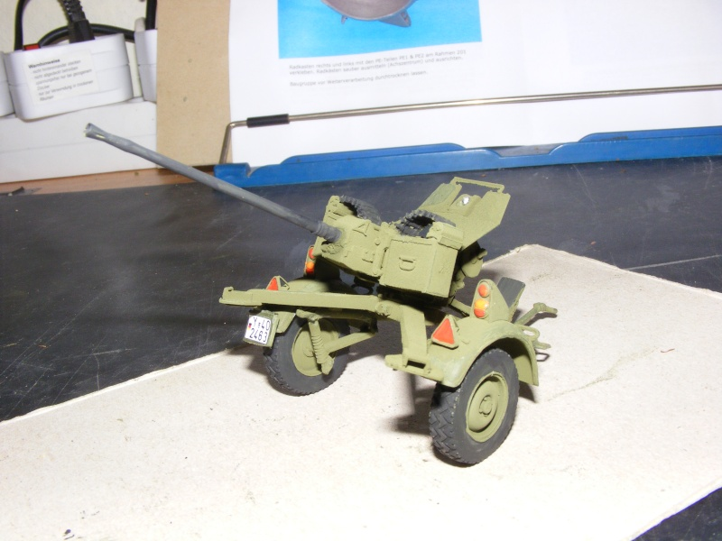 Feldkanone 20 mm FK 20 - 2  ( MK 20 DM 5 ) mit Sonderanhänger in 1:35 Dscf1426