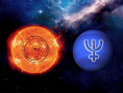 Conjonction Soleil Neptune Neptun15