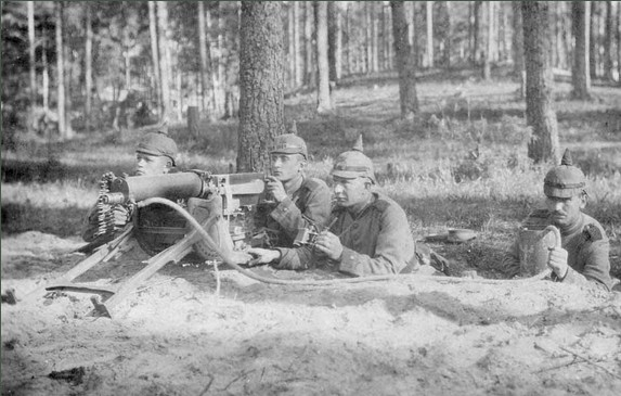 Les armes de l'infanterie: Les mitrailleuses. Mitrai10