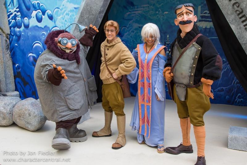 Les personnages de l'Atlantide à Disneyland Paris Atlant10