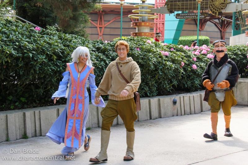 Les personnages de l'Atlantide à Disneyland Paris Atlant11