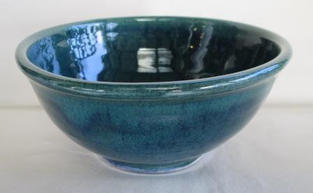 Spiral Pot with MBG Blue_b10