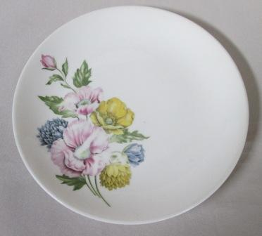 Side plate with Flowers.. Floral10