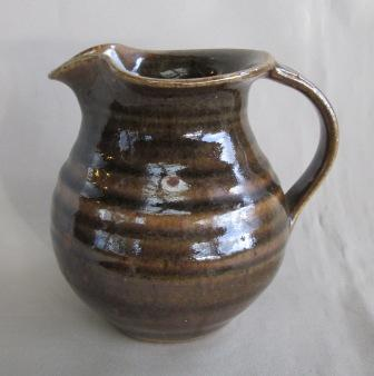 Brown Spiral Jug Spiral10