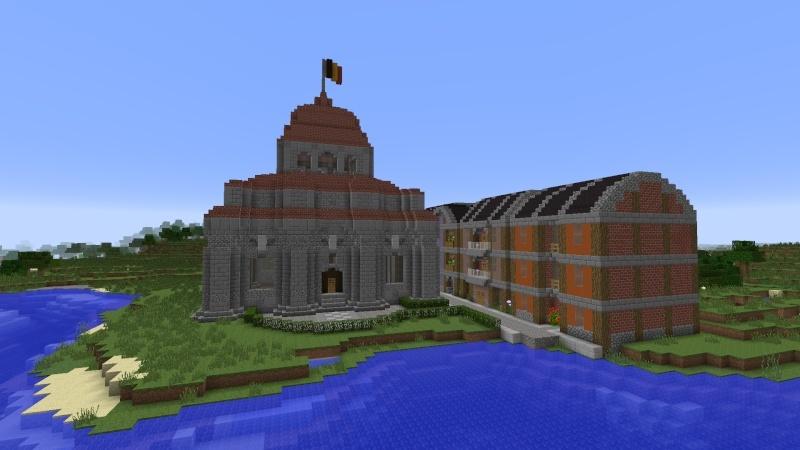 [Minecraft] Commencement d'une ville 2014-012