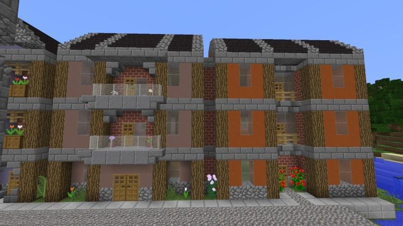 [Minecraft] Commencement d'une ville 2014-013