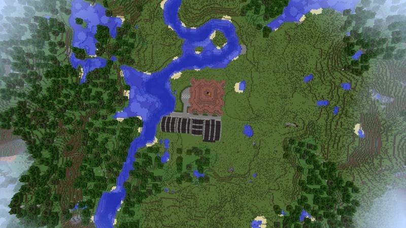 [Minecraft] Commencement d'une ville 2014-014