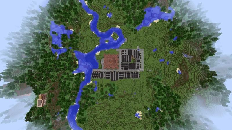 [Minecraft] Commencement d'une ville 2014-015